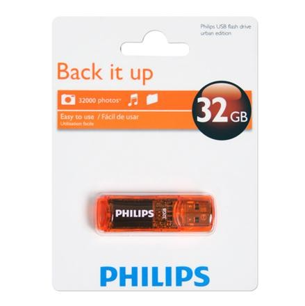 PHILIPS PENDRIVE URBAN USB 2.0 32GB